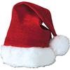 Santa Hat Velvet Plush Trim