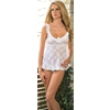 Babydoll White Medium