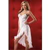 Gown And G-String White One Size