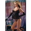 Black Babydoll With G-String Medium