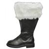 Santa Boot Wide Calf Fur Cuff 8-9 (Small)