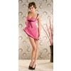 Babydoll 2 Piece Pink/Black Medium/L