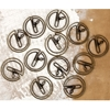 Lifetime Shaped Metal Paper Clips 12/Pkg-Clocks 1.25""