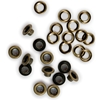 "3/16"" Eyelets and Washers 30/Pkg-Brass"