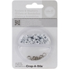 "3/16"" Eyelets and Washers 30/Pkg-White"