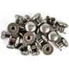 "Treasures Metal Drawer Knobs .375"" 12/Pkg-Antique Silver"