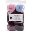 "Wool Roving 12"" .25 Ounce 8/Pkg-Sea Shells"