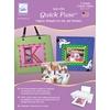 Quick Fuse Iron-On Inkjet Fabric Sheets-Cream 8-1/