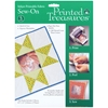 Printed Treasures Sew-On Ink Jet Fabric Sheets-Whi
