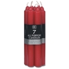 """All Purpose Unscented Candles 7"""" 7/Pkg-Red"""