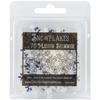"Medium Shimmer Snowflakes - 2.5"" X 2.5"""