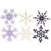 """Large Felt Heritage Winter Snowflakes - 2.5"""" X 2.5"""""""