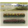 Green-Blossom Blended Flower Hedges - 4 Pack
