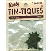 Rusty Tin-Tiques Star Cut-Outs - 1.25""