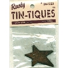 Rusty Tin-Tiques Star Cut-Outs - 1.75""