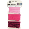 "Fuchsia Sew Ribbon - 0.39"" X 6 Yards"