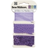 "Violet Sew Ribbon - 0.39"" X 6 Yards"