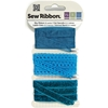 "Teal Sew Ribbon - 0.39"" X 6 Yards"