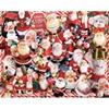 "Jigsaw Puzzle Crazy Santas - 30"" X 24"""
