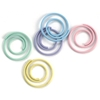 Mini Painted Metal Spiral Clips 25/Pkg-Pastel