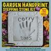 "Garden Hand Print Stepping Stone Kit - 8"" X 8"""