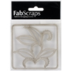 Die-Cut Chipboard Embellishments-Filigree Twist