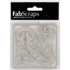 Die-Cut Chipboard Embellishments-Retro Corners