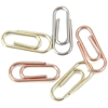 Mini Paper Clips Silver/Copper/Brass - 25 Ct