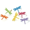 Painted Metal Paper Fasteners 50/Pkg-Tropical - Dr