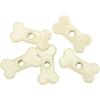 Eyelet Outlet Quicklets Dog Bone - 20 Ct
