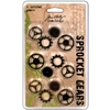 Tim Holtz Idea-Ology Sprocket Gears-12/Pkg - 4Ea A
