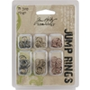 Tim Holtz Idea-Ology Jump Rings-75/Pkg