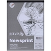 "Reeves Newsprint Paper Pad 150 Sheets - 9"" X 12"""