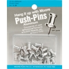 """Aluminum Push-Pins - 0.375"""""""