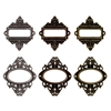 "Tim Holtz Idea-Ology 2.5"" Ornate Plates With Long"