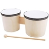 Wood Instrument-Bongo Drums (Unpainted)
