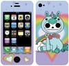 iPhone 4S Skin - Unie In Wonderland