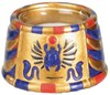 Scarab Votive Holder (Medium)