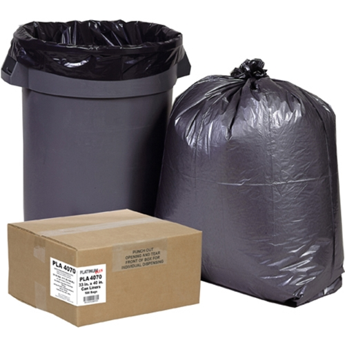 18rtbk steel 33 gallon 3 opening recycling container with 3 plastic liners