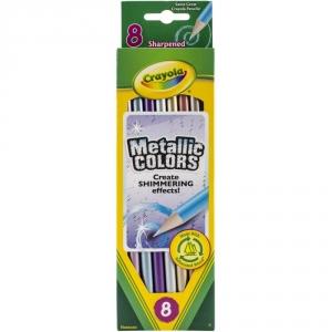 Crayola Metallic Colored Pencils 8-pk