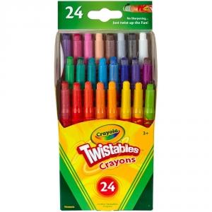 Crayola Twistables Mini Crayons 24pk