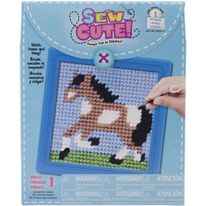 Horse Learn To Stitch Needlepoint Kit