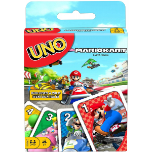Mattel Games UNO Mario Kart Card Game