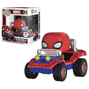 POP! Marvel Spider-Man with Spider Mobile
