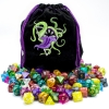 Bag of Devouring 140 Polyhedral Dice in 20 Complete Sets