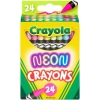 Crayola Neon Crayons Back to School Supplies 24ct