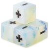 Handmade Stone Fudge Dice Opalite 4-pack