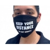 Keep Your Distance - Cotton Face Mask